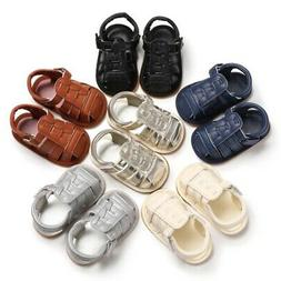 Summer Baby Boys Anti-Slip Hollow Shoes Sandals Toddler Soft