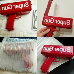 Super Gun Electric Money Gun Funny For Child Gift Party Age