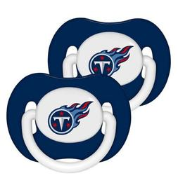 Tennessee Titans Baby Infant Pacifiers NEW - 2 Pack! Baby Fa