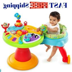 Toddler Activity Center + Baby Walkers With Wheels For Boys