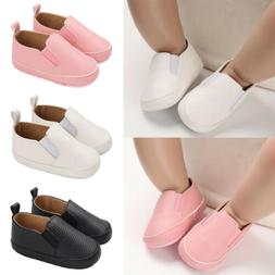 Toddler Baby Boys Girls Soft Sole Shoes Trainers Pre-Walker