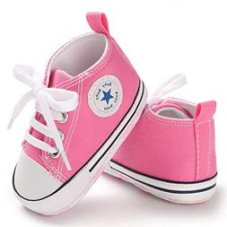 Save Beautiful Toddler Baby Girls Boys Shoes Infant, Pink2,
