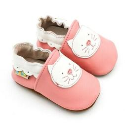 Toddler Baby Kid Girls Cartoon Soft Cat Anti-Slip Shoes Walk