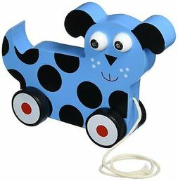 Toys For Toddlers, Wooden Wonders Dalmatian Puppy Push Pull