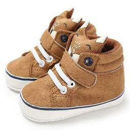 Winter Autumn Baby Warm Shoes Boys Lace Cotton Cloth First W