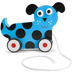 Imagination Generation Wooden Wonders Push-n-Pull Dalmatian